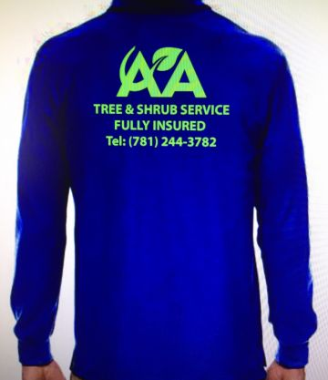 AA tree & shrub service