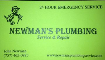 Newmans Plumbing Service and Repair