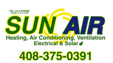 SunAir Heating, Air Conditioning, Electrical, & Solar