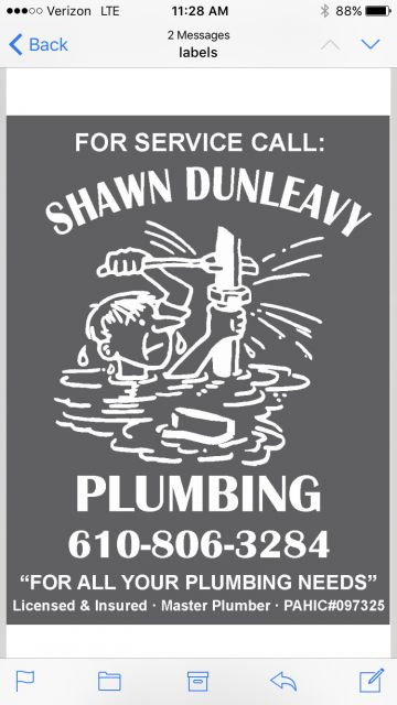 Shawn Dunleavy Plumbing And Drain Cleaning