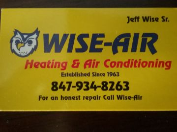 WiseAir Heating Air Conditioning and Refrigeration